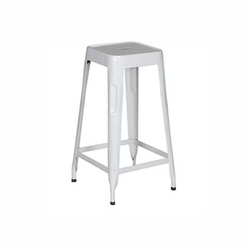 Stylo Stool In White finish