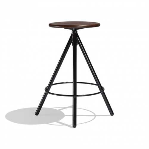 Isaac Bar Stool In Mild Steel