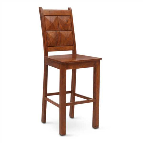 Liliya Bar Chair In Mango Wood