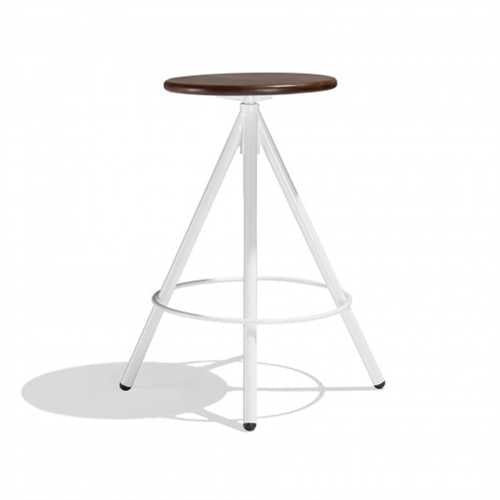 Liam Bar Stool In Mild Steel