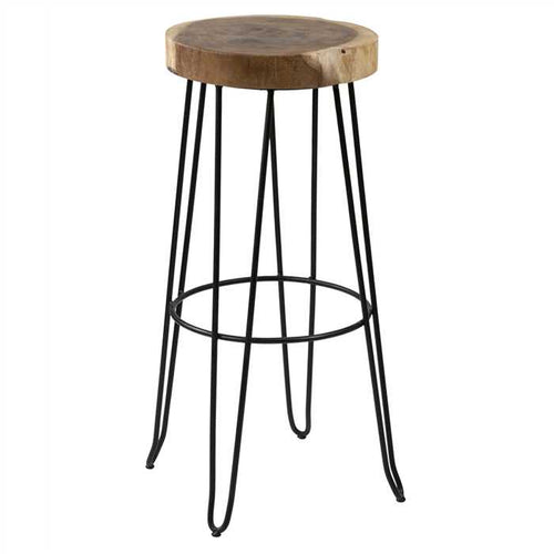Dudo Bar Stool In Mild Steel