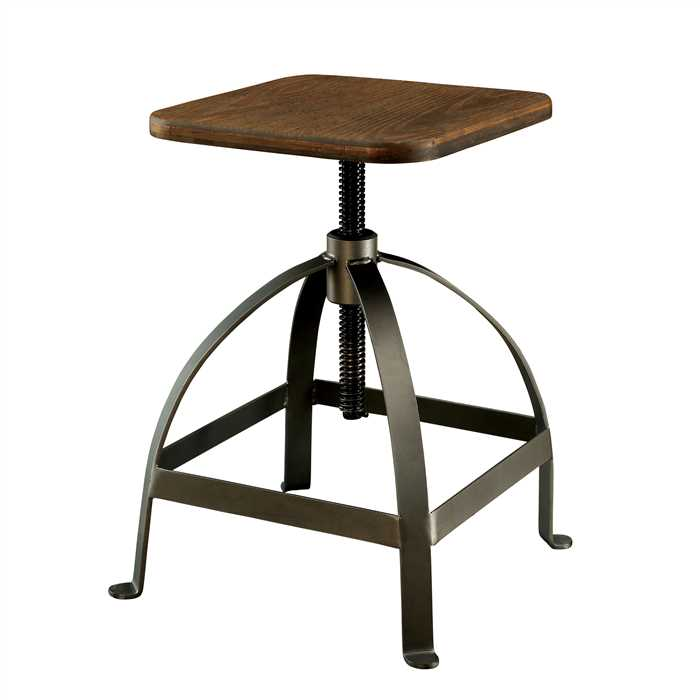 Keira Bar Stool - Low In Mango Wood