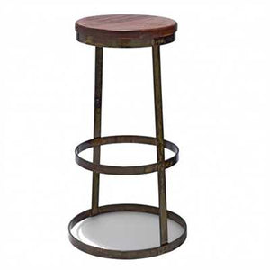 Gleeson Bar Stool In Mild Steel