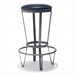 Flynn Bar Stool In Mild Steel