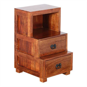 Mollie Bed Side Table In Sheesham Wood