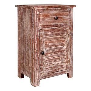 Avril Bed Side Table In Sheesham Wood