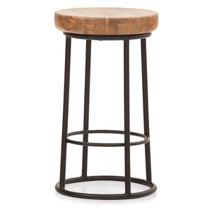 Tena  Bar Stool In Mango Wood