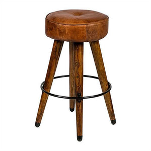 Freddy Bar Stool In Sheesham Wood