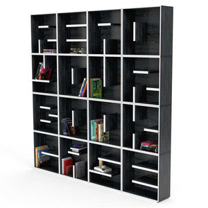 Niks Book Shelf In Plywood And Laminate
