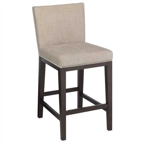 Greeky Bar Chair In Premium Upholstered Fabric