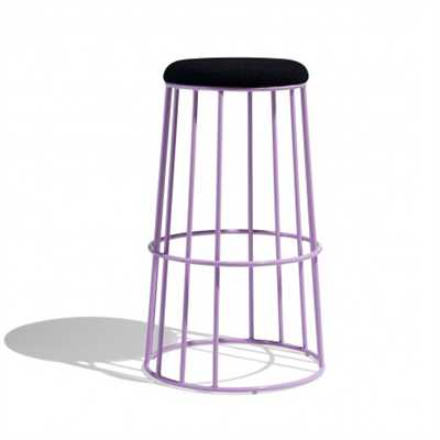 Rheon Bar Stool In Mild Steel