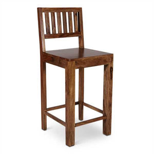 Olivia  Bar Stool In Sheesham Wood