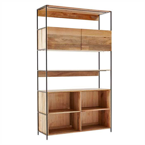 Rorge Bookshelf In Mango Wood