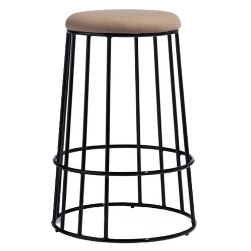 Iwan Bar Stool In Mild Steel