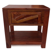 Sun Bed Side Table In Sheesham Wood