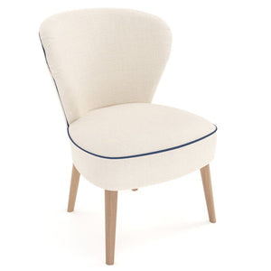 Cloe Chair In Premuim Upholstered Fabric