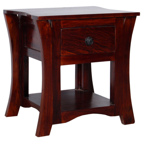 Gwen Bed Side Table Mango Wood