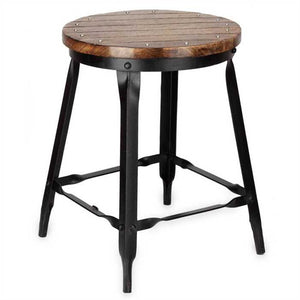 Sonia Stool In Sheesham Wood