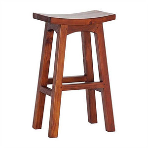 Chucky Stool Large In Sheesham Wood