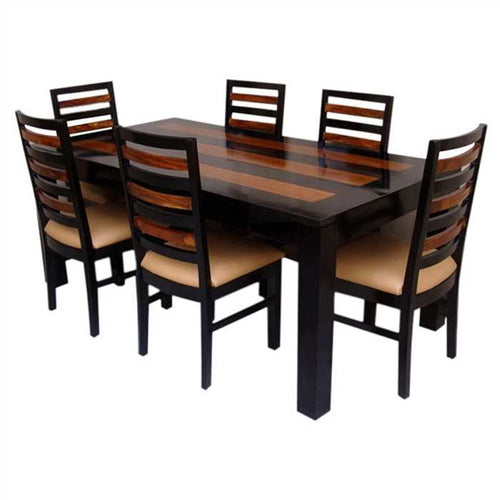 Browny 6 Seater Dining Set