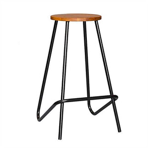 Calvin Bar Stool In Mild Steel