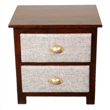Rihanna Bed Side Table In Sheesham Wood