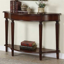 Cyrus Console Table In Sheesham Wood