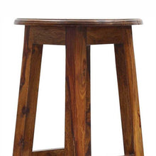 Geomi Bar Stool In Sheesham Wood