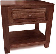 Toriad Bed Side Table In Rich Sheesham Wood