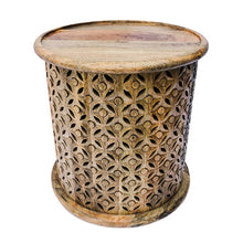 Irene Stool In Sheesham Wood