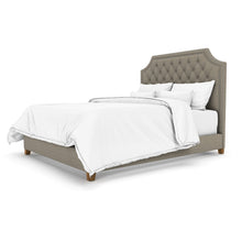 Mont Queen Bed In Premuim Upholstered Fabric