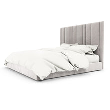 Kraus Bed In Plywood With Premuim Upholstered Fabric