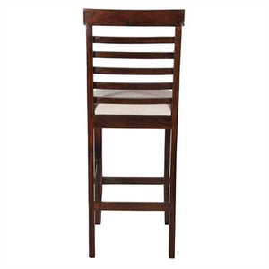 Mila Bar Chair In Sheesham Wood