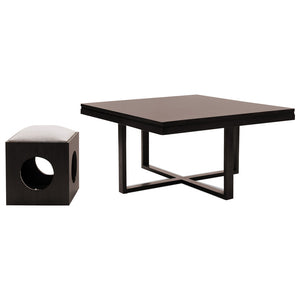 Coaster Coffee Table With Stools