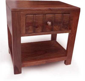 Walter Bed Side Table In Sheesham Wood