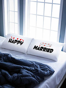 Stoa Paris Happy Married Pillow Talk Bed Linen