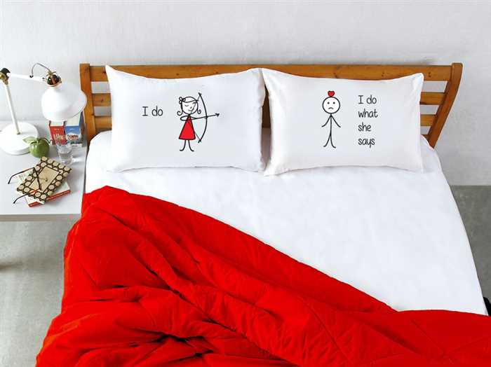 Stoa Paris I Do Pillow Talk Pillow Cover Set