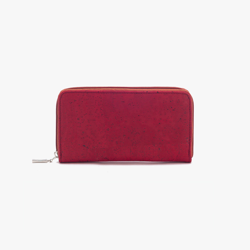 Cork wallet BORDEAUX