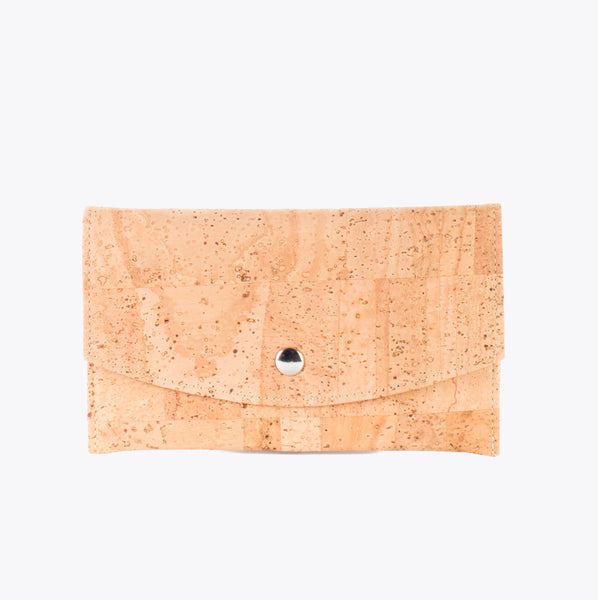 Cork envelope wallet NATURAL