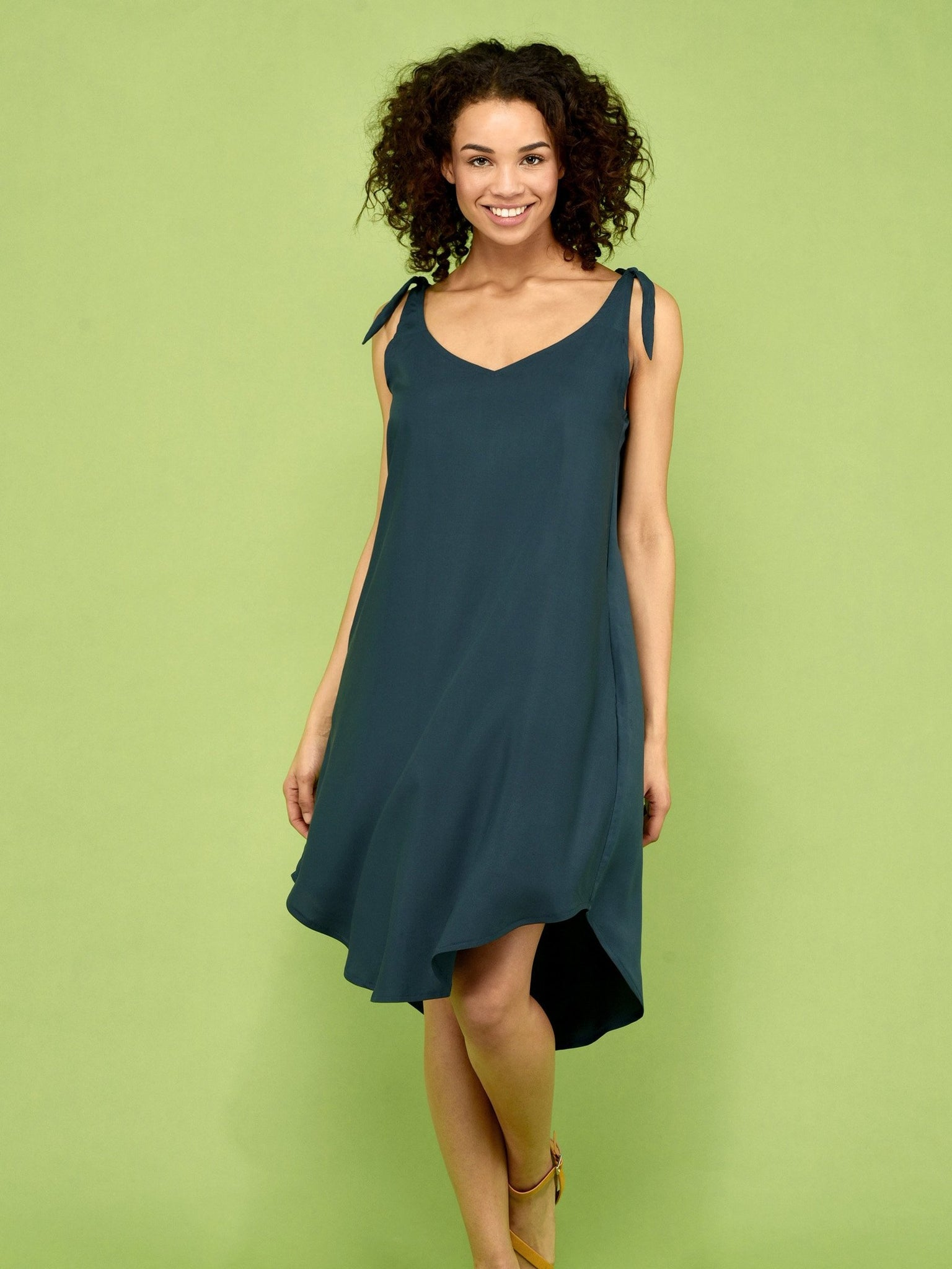 Tencel dress ALYSSA green