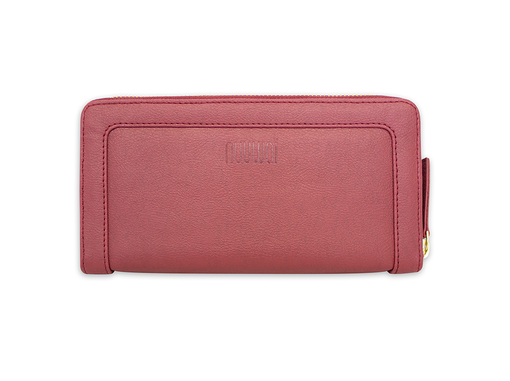 Appleskin wallet MADITA red berry