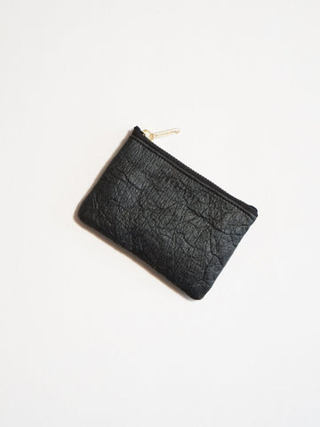 Pineapple fibre wallet ZIP