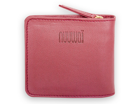 Appleskin wallet ERIKA red berry