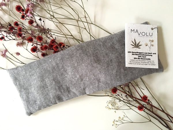 Recycled hemp + organic cotton thermal cushion HOYA