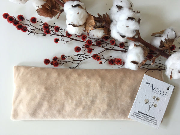 Organic cotton thermal cushion VELVET