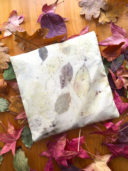 Peace silk thermal cushion AUTUMN large