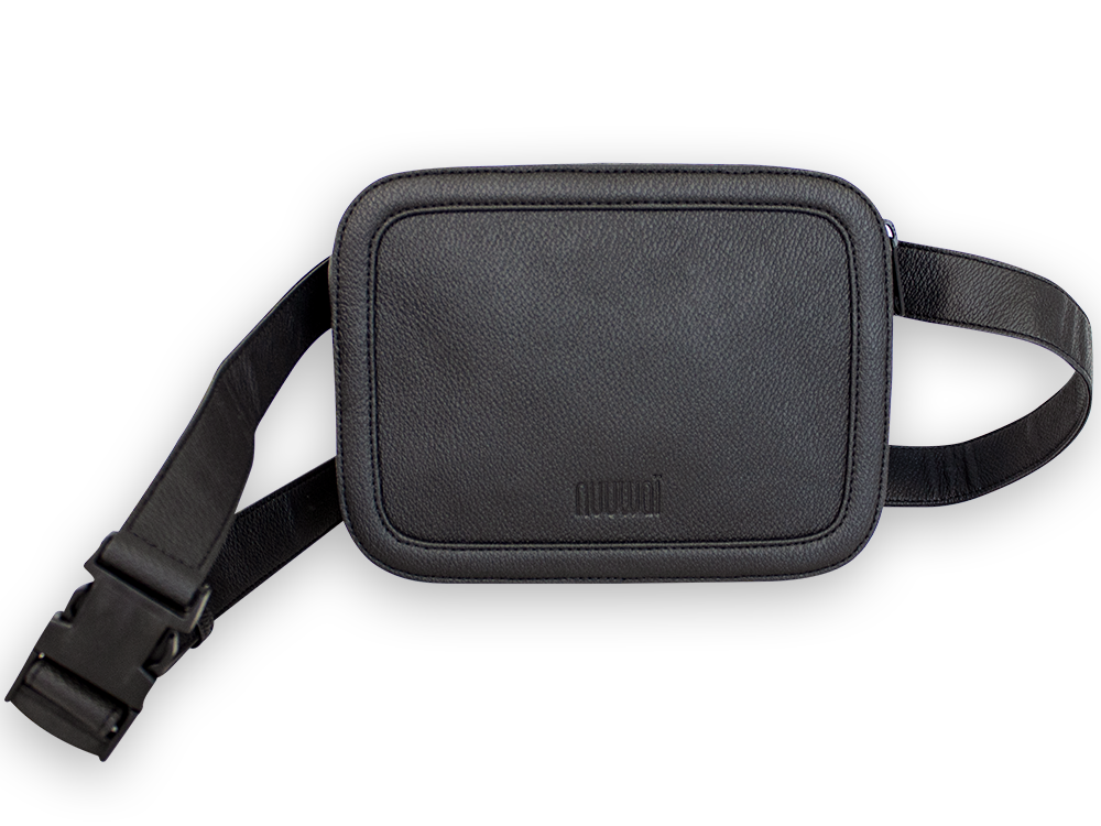 Appleskin hip bag JORID night black