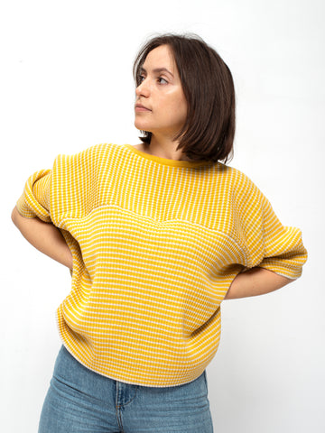 Organic cotton knit jumper AYA