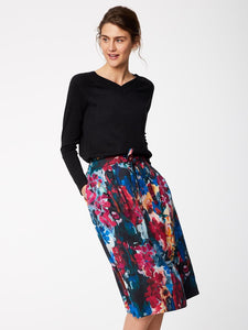 Tencel skirt FLOWER PALETTE