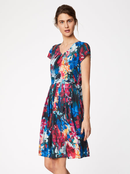 Tencel dress FLOWER PALETTE